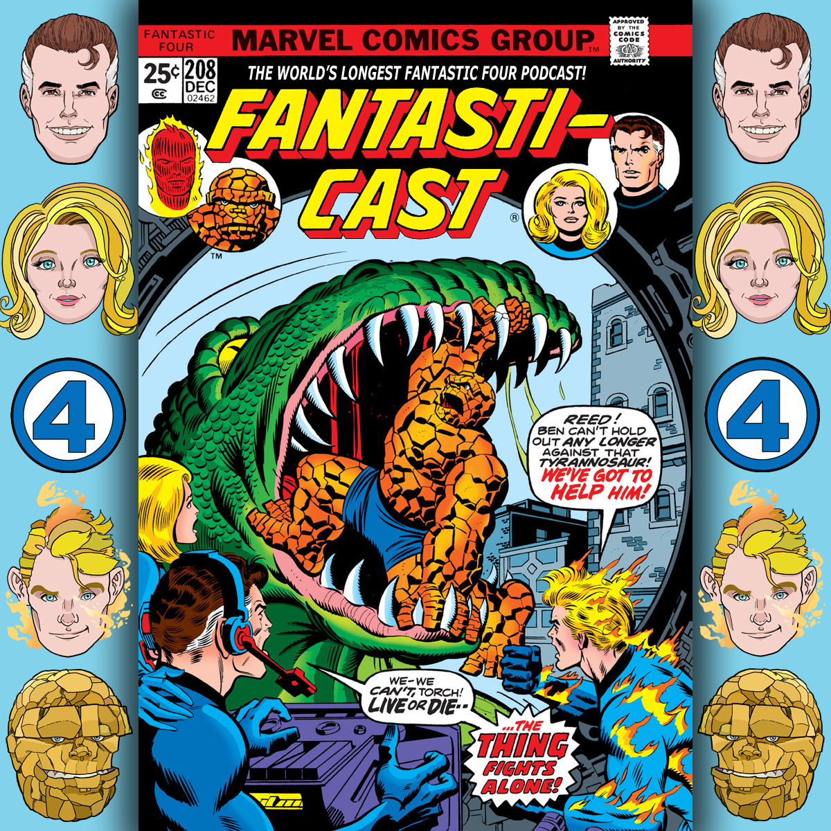 Episode 208: Fantastic Four #161 - All The World Wars At Once