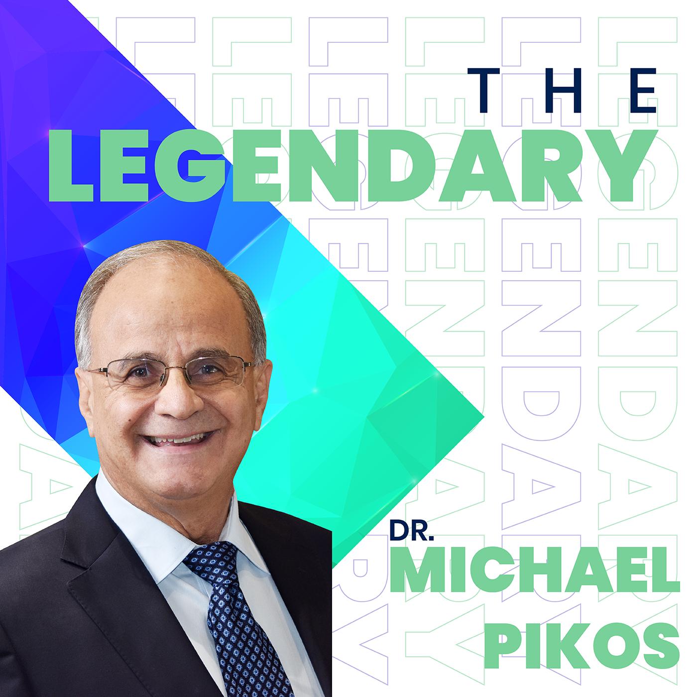 Artwork for The Legendary Dr. Michael Pikos