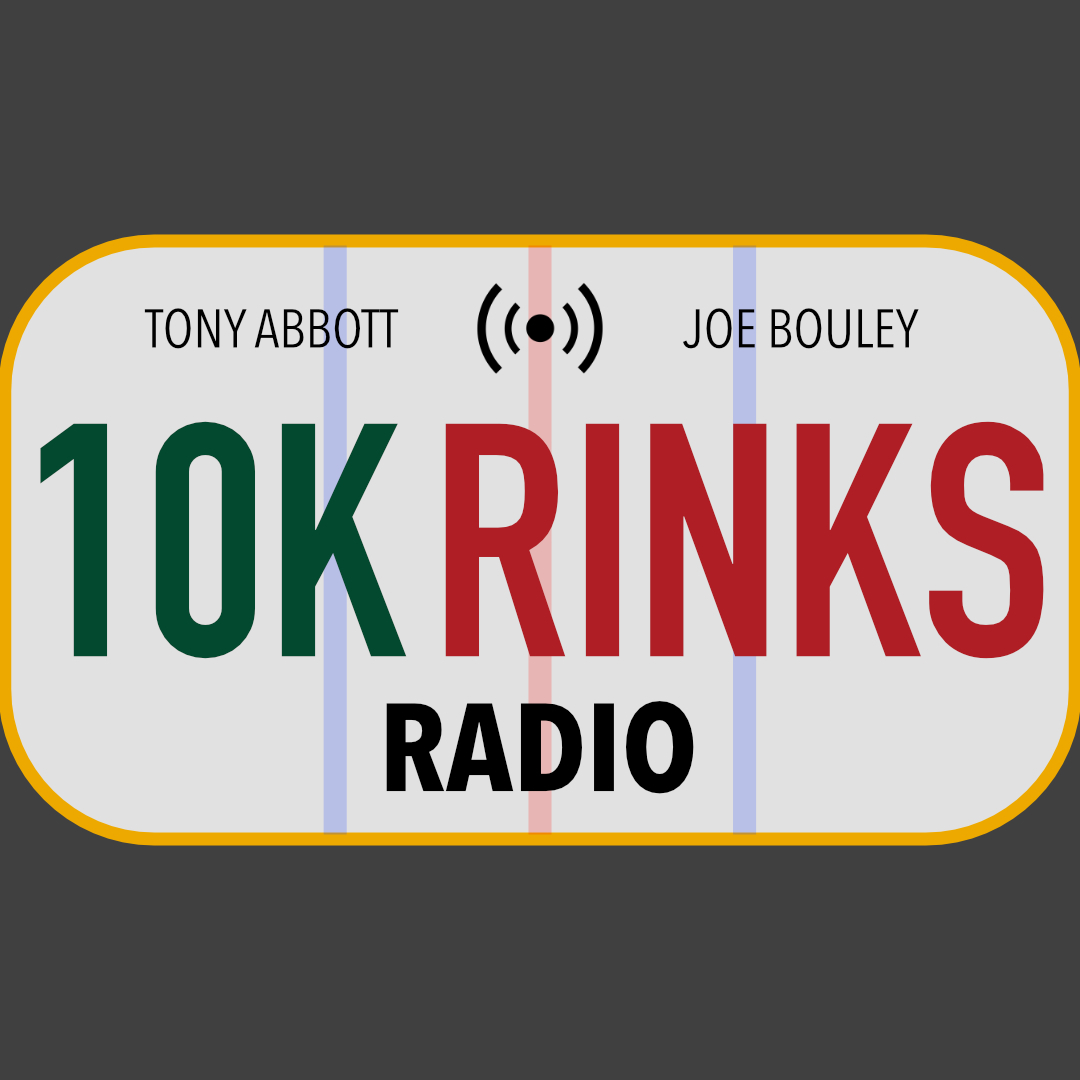 10K Rinks Radio - A Minnesota Wild Podcast show art