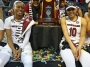 Artwork for Dishin & Swishin WNBA Draft Podcast: Dawn Staley on Alaina Coates, Allisha Gray & Kaela Davis