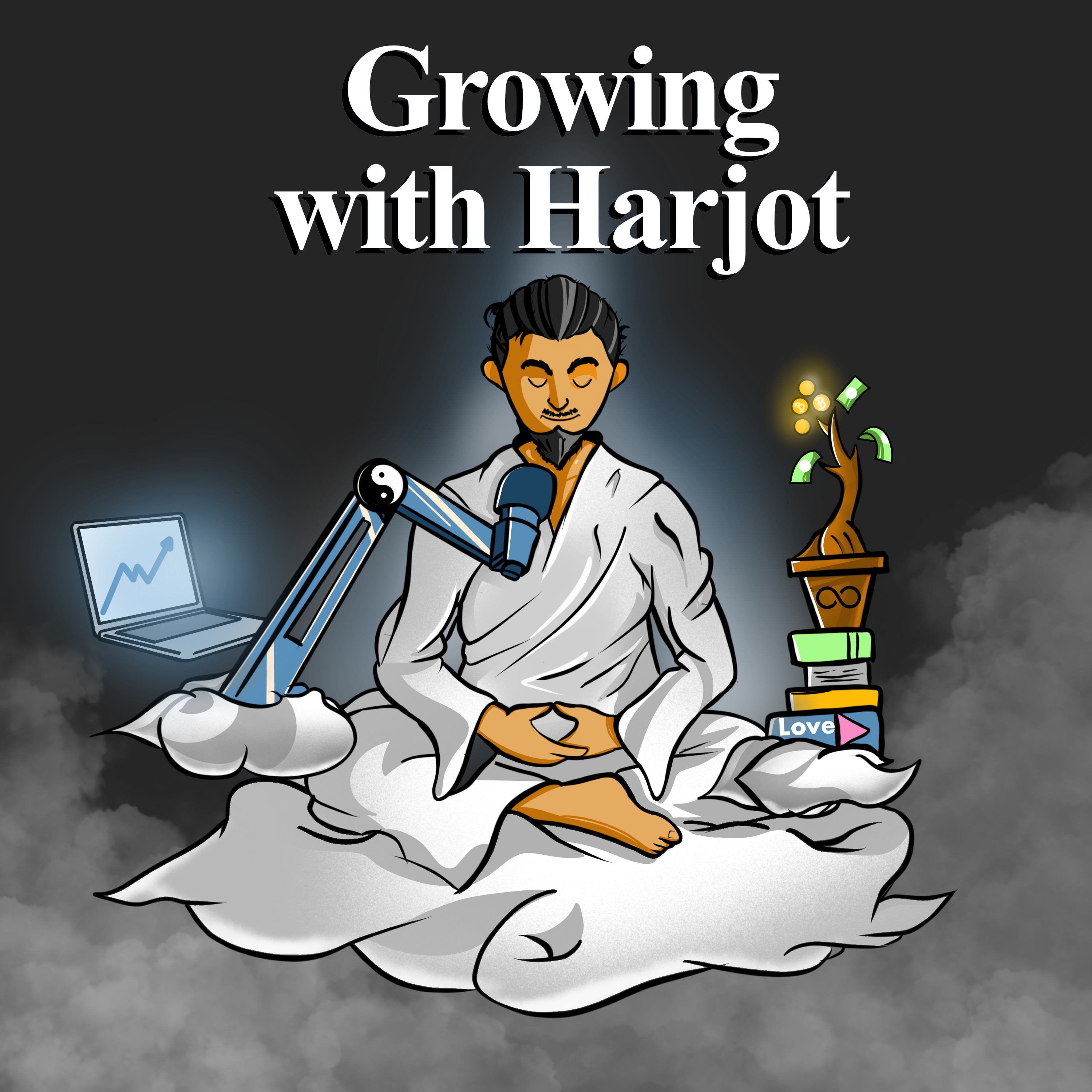Growing With Harjot Podcast show art