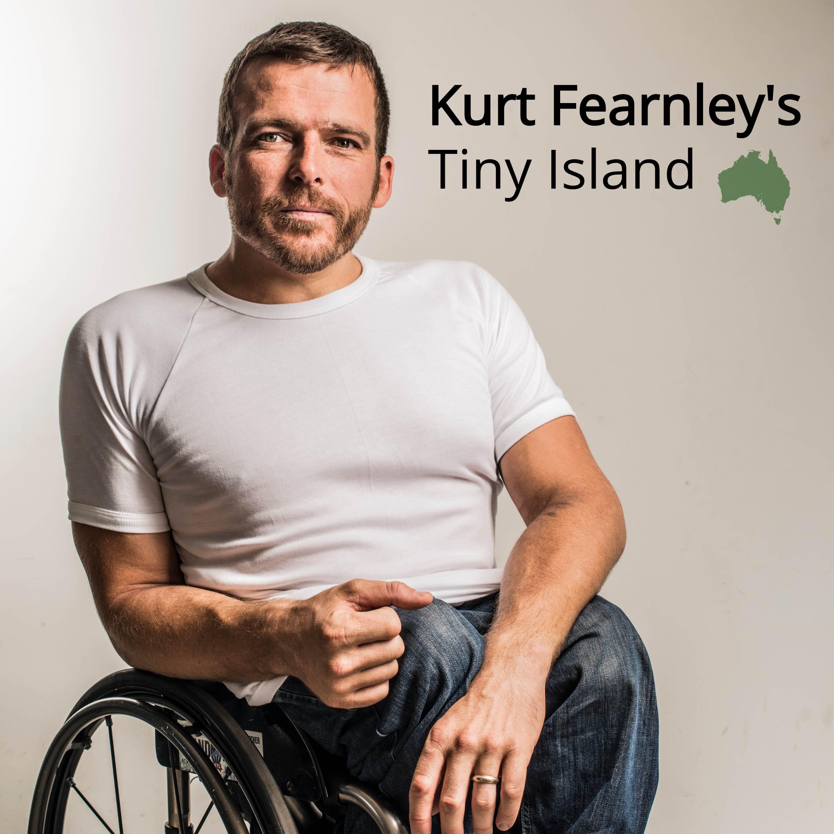 Kurt Fearnley's Tiny Island: Mark Hughes