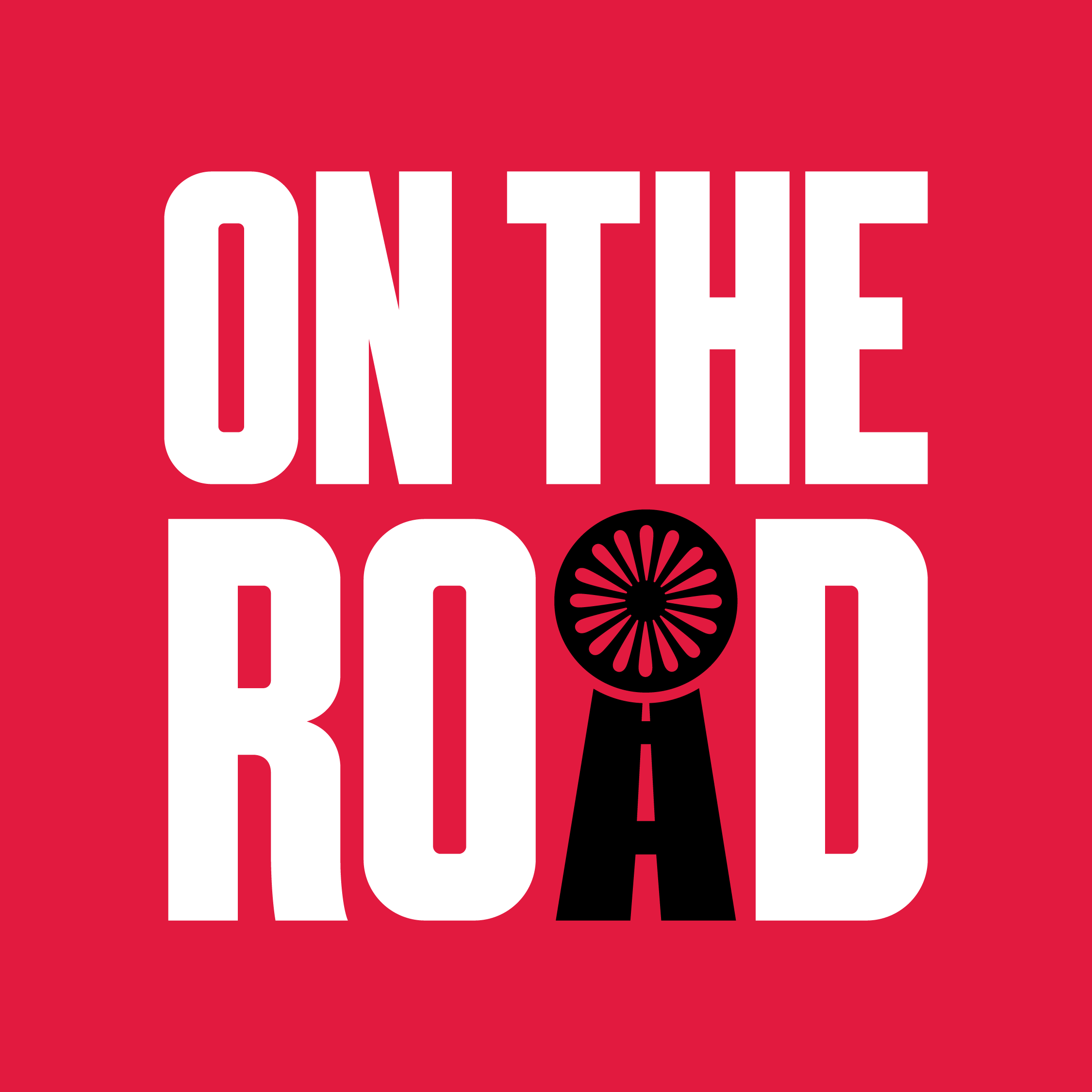 On The Road show art
