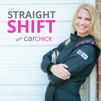 The Straight Shift with The Car Chick show art