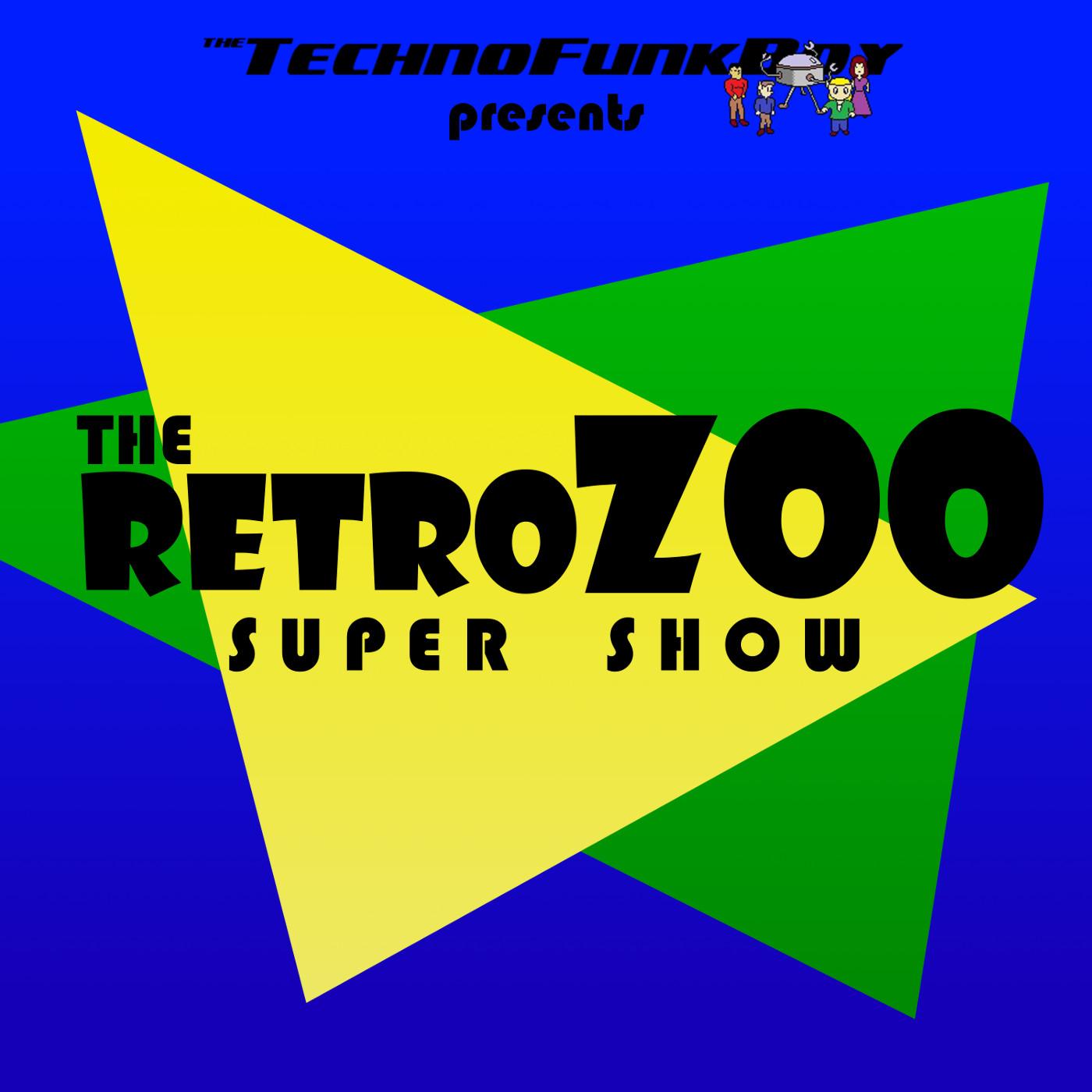 The Retro Zoo Super Show! show art