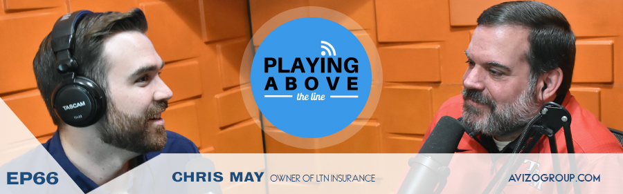 Chris May on Playing Above The Line Podcast