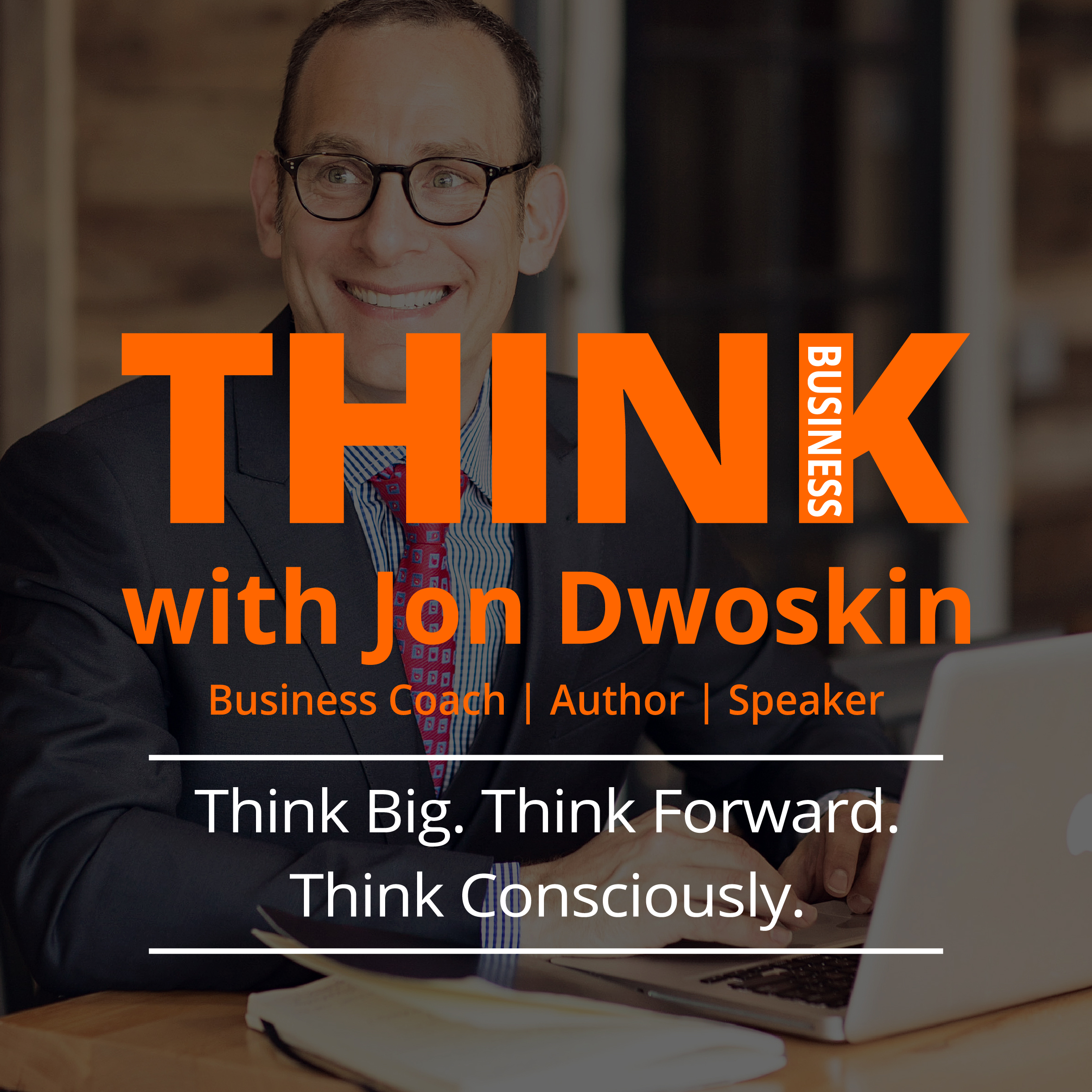 THINK Business with Jon Dwoskin show art