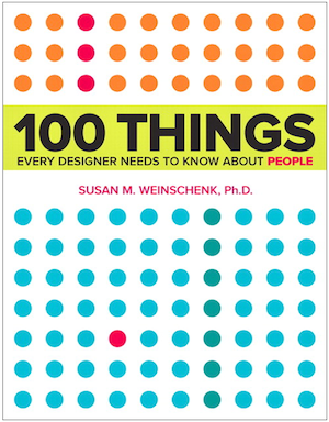 DC81: 6th Anniversary Episode with Dr. Susan Weinschenk on 100 Things Every Designer Needs to Know About People