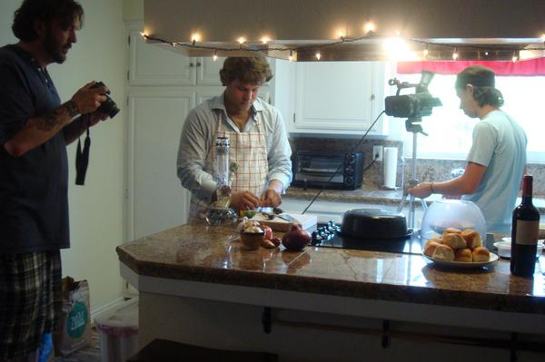 "Behind the Scenes of ""Cooking with Dubious Pilot"""
