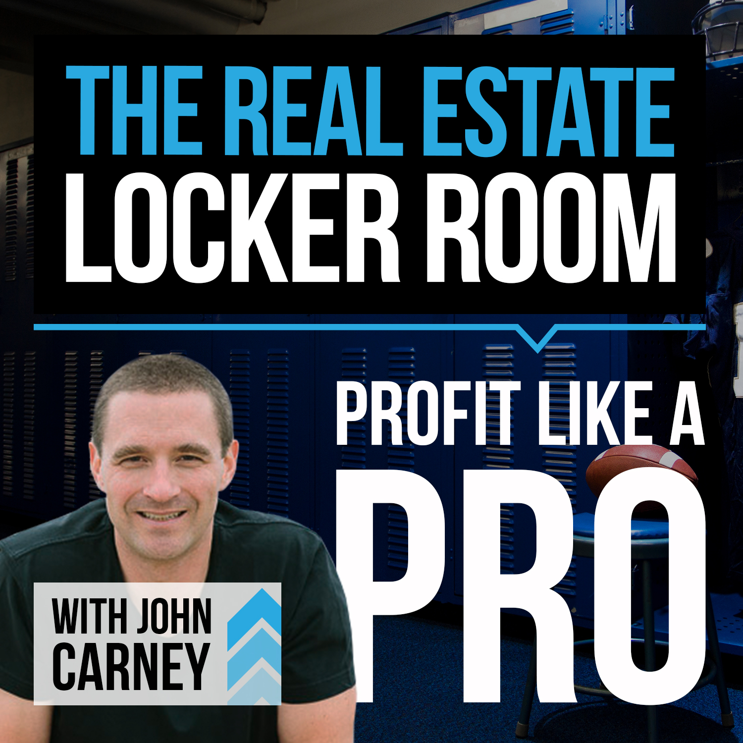 The Real Estate Locker Room Show with John Carney show art