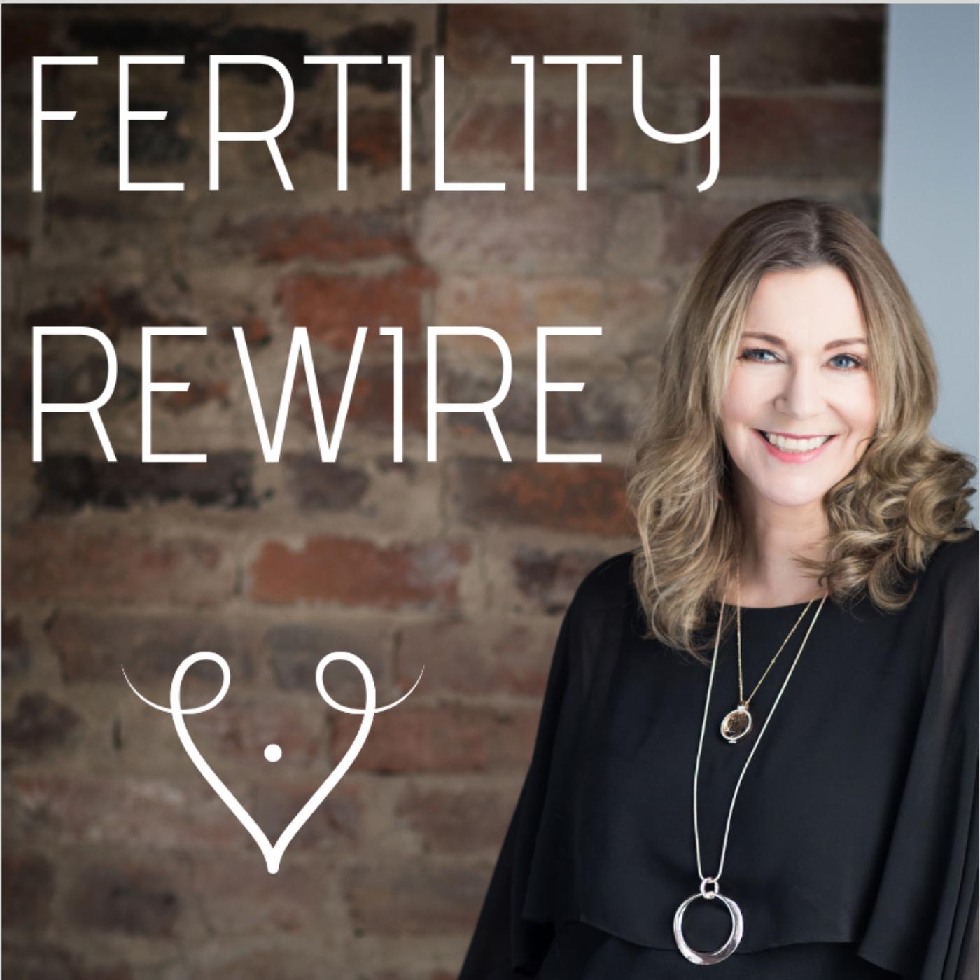 Fertility Rewire Podcast show art