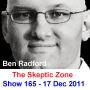 Artwork for The Skeptic Zone #165 - 17.Dec.2011