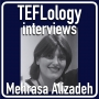 Artwork for TEFL Interviews 48: Mehrasa Alizadeh (JALT 2018)