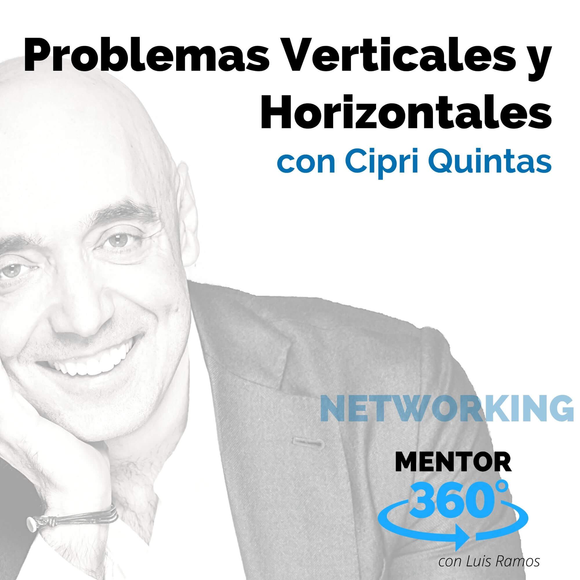Problemas Verticales y Horizontales, con Cipri Quintas - NETWORKING