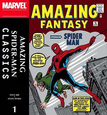001 ASM Classics - Amazing Fantasy 15
