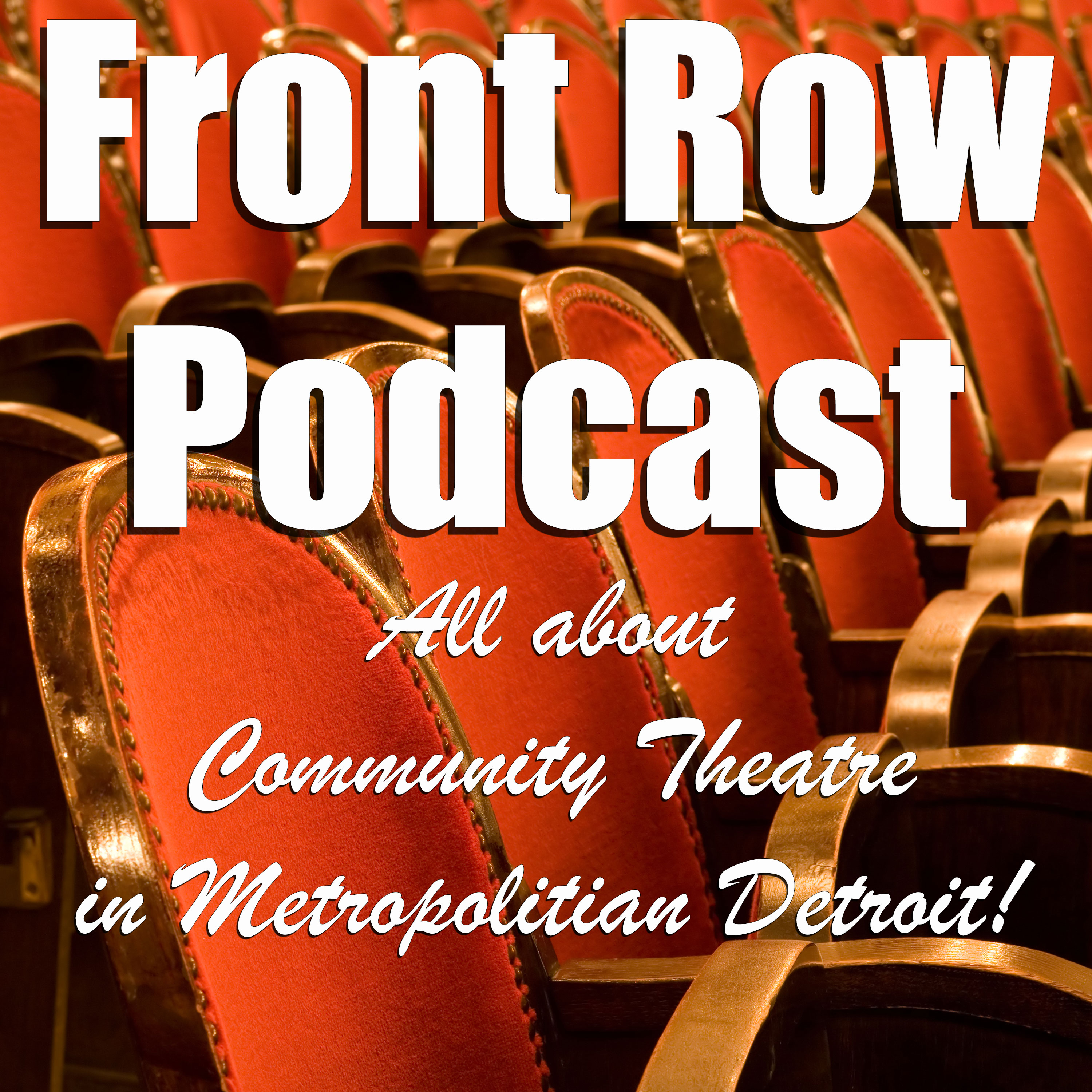 Front Row Podcast show art