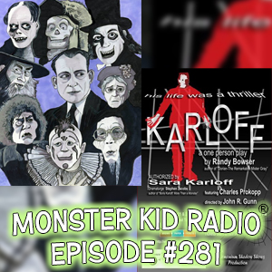 Monster Kid Radio #281 - Charles Prokopp and Karloff & Rondo Award Winning Artist Jason Brower