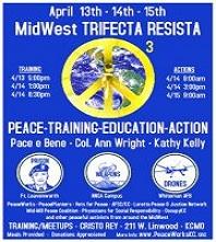 Ann Wright & Kathy Kelly on Trifecta Resista plus Corporate FM