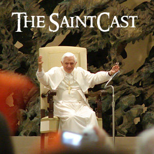 SaintCast #97, Soundseeing at Papal Audience in Rome, daughter lost in Vatican City, cheering crowds, feedback +1.312.235.2278