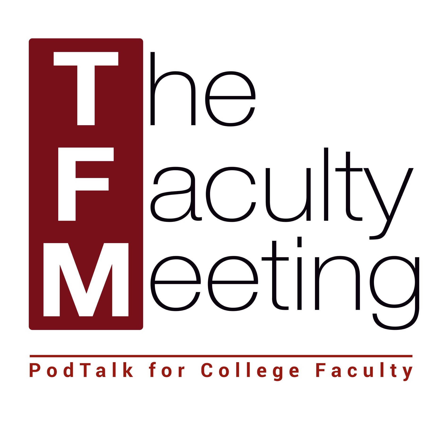 the faculty meeting