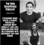 Artwork for Episode 24: Exercise when you're parenting, postnatal fitness, persistence OVER perfection and modeling postive relationships with your body and movement