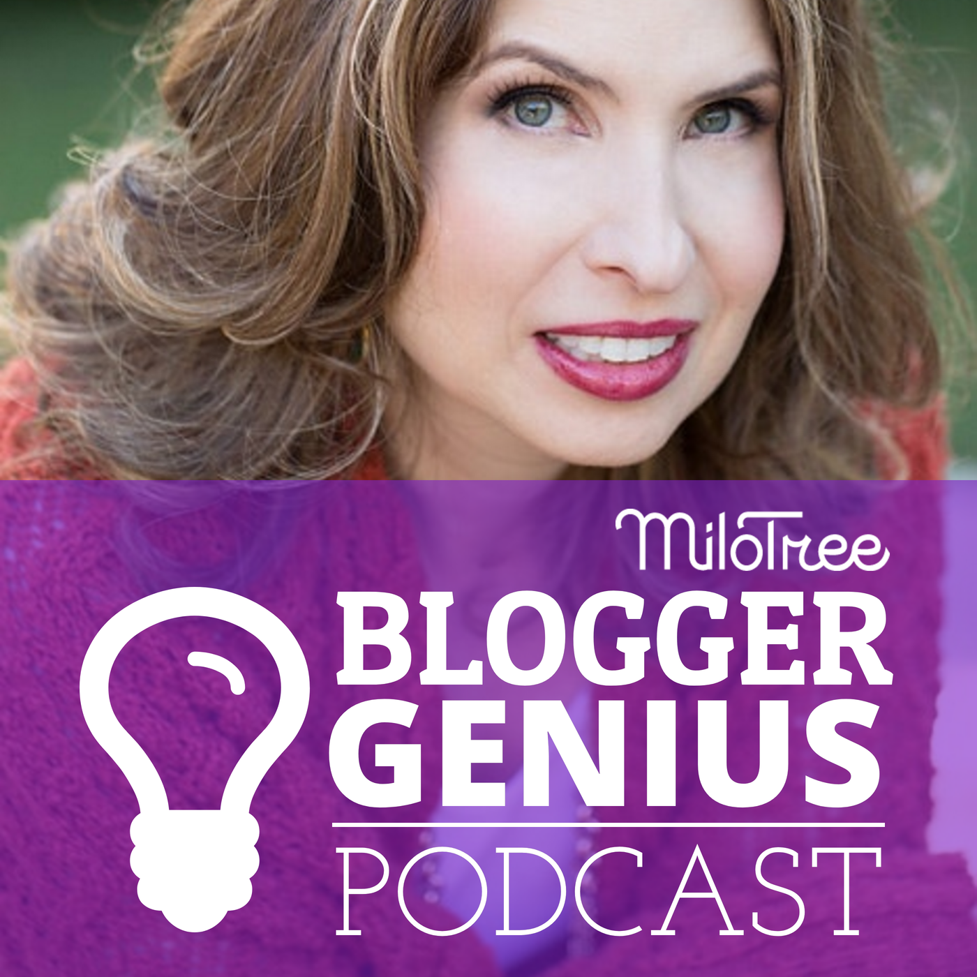The Blogger Genius Podcast with Jillian Leslie show art