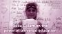 Artwork for Julia Gillard on the power of universal education