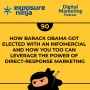 Artwork for #90: How Barack Obama Got Elected with an Infomercial and How You Too Can Leverage the Power of Direct-Response Marketing