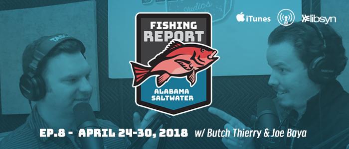 Alabama Saltwater Fishing Report | EP8 | April 24-30 | Gulf Fishing