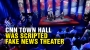 """Artwork for CNN town hall event was scripted """"fake news"""" theater"""