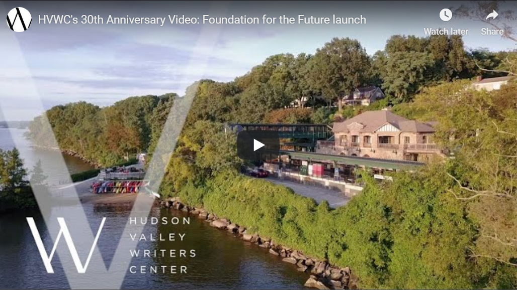 Photo of the Hudson Valley Writers Center YouTube Video