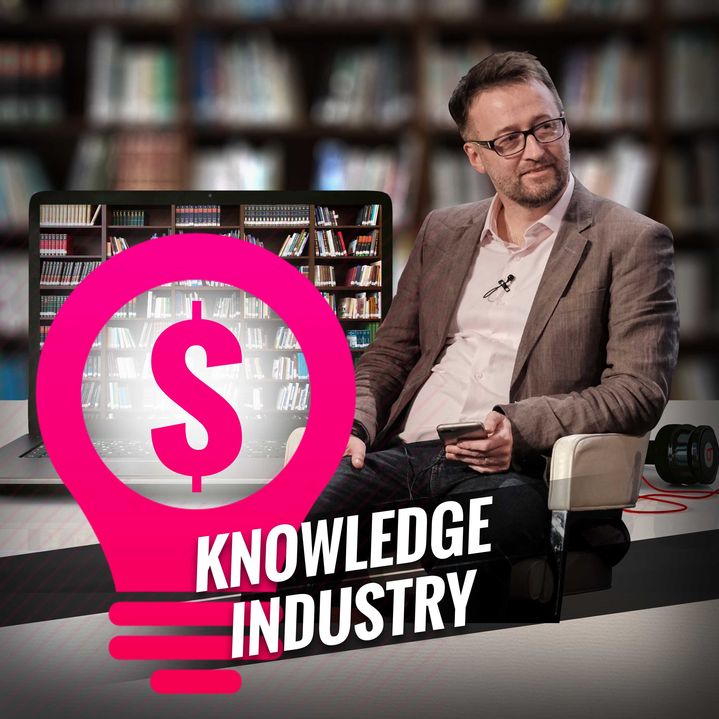 The Knowledge Industry show art