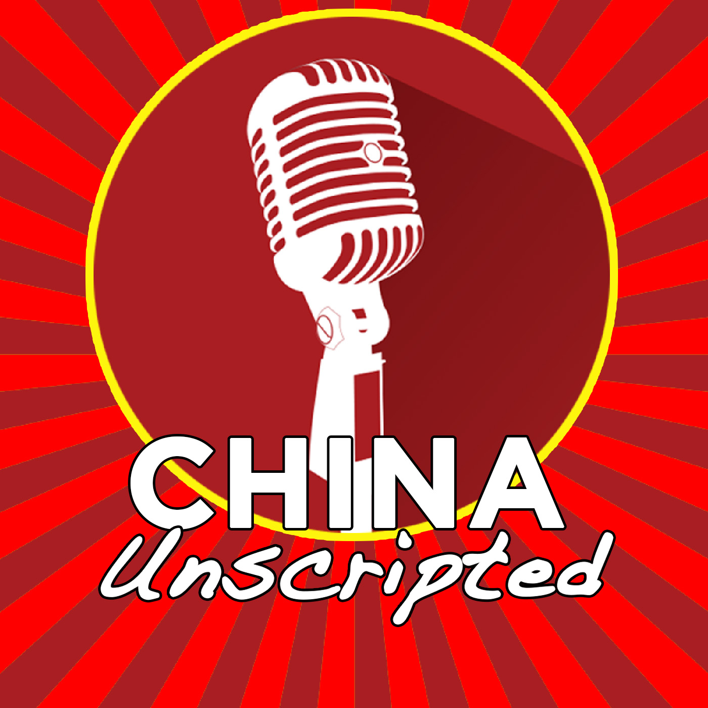 China Unscripted show art