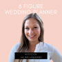 Artwork for How Halima became a wedding planner, then how she started helping wedding planners grow their business.
