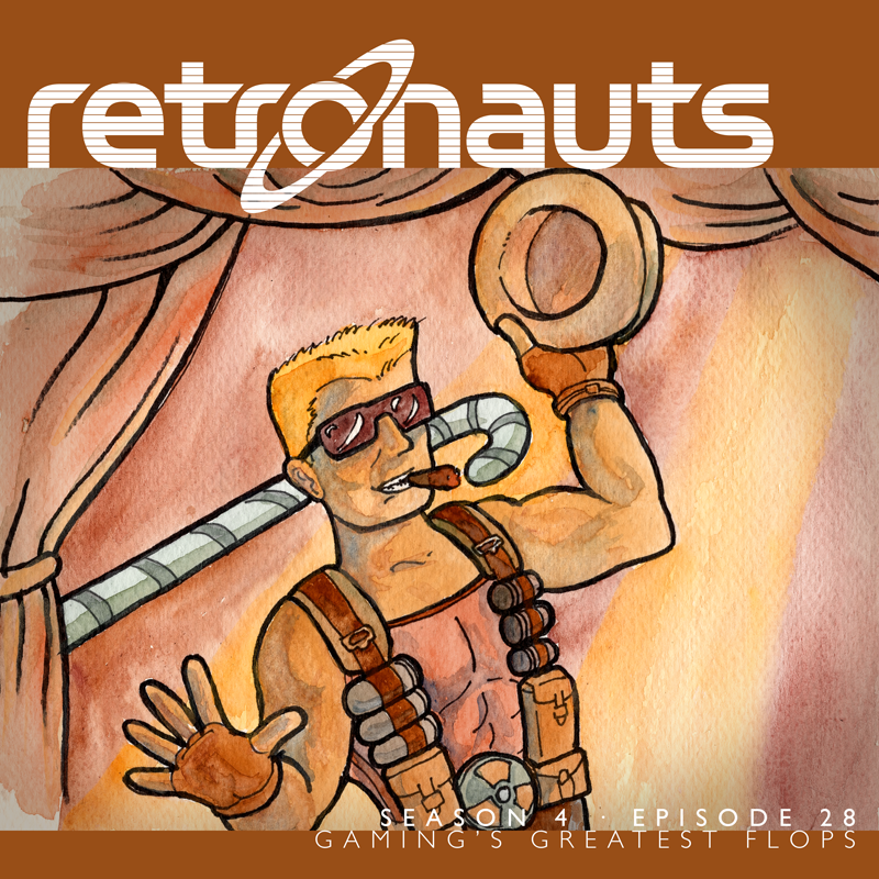 Retronauts Vol. IV Episode 28: Gaming's Greatest Flops