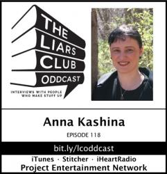 The Liars Club Oddcast: The Liars Club Oddcast # 118 | Anna Kashina, Award-Winning Fantasy Author