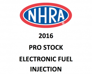 027  - Power And Speed - NHRA 2016 Pro Stock Rules
