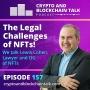 Artwork for The Legal Challenges of NFTs! We talk Lewis Cohen, Lawyer and OG of NFTs #157