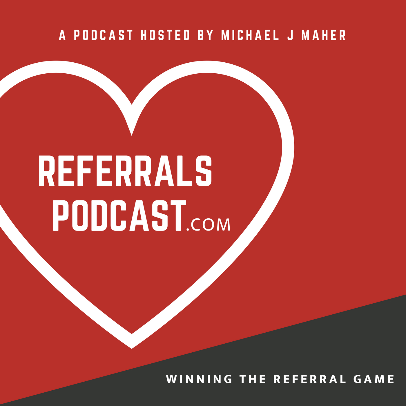 REFERRALS PODCAST show art