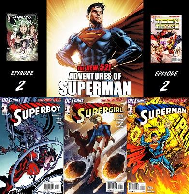 02 Superboy Supergirl Superman 1