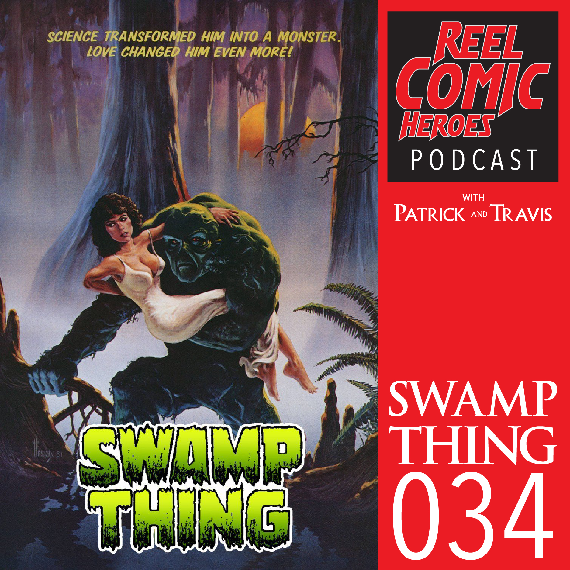 Artwork for Reel Comic Heroes 034 - Swamp Thing with Warner Swopes