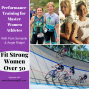 Artwork for Performance Training with Master Women Athletes