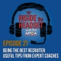 Artwork for Being The Best Recruiter: Useful Tips From Expert Coaches