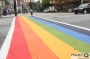Artwork for Atlanta spends $200k on Rainbow Sidewalks after promising it wasn't costing taxpayers.