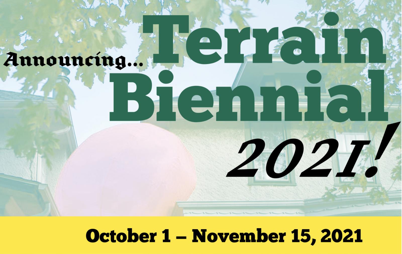 Terrain Biennial 2021