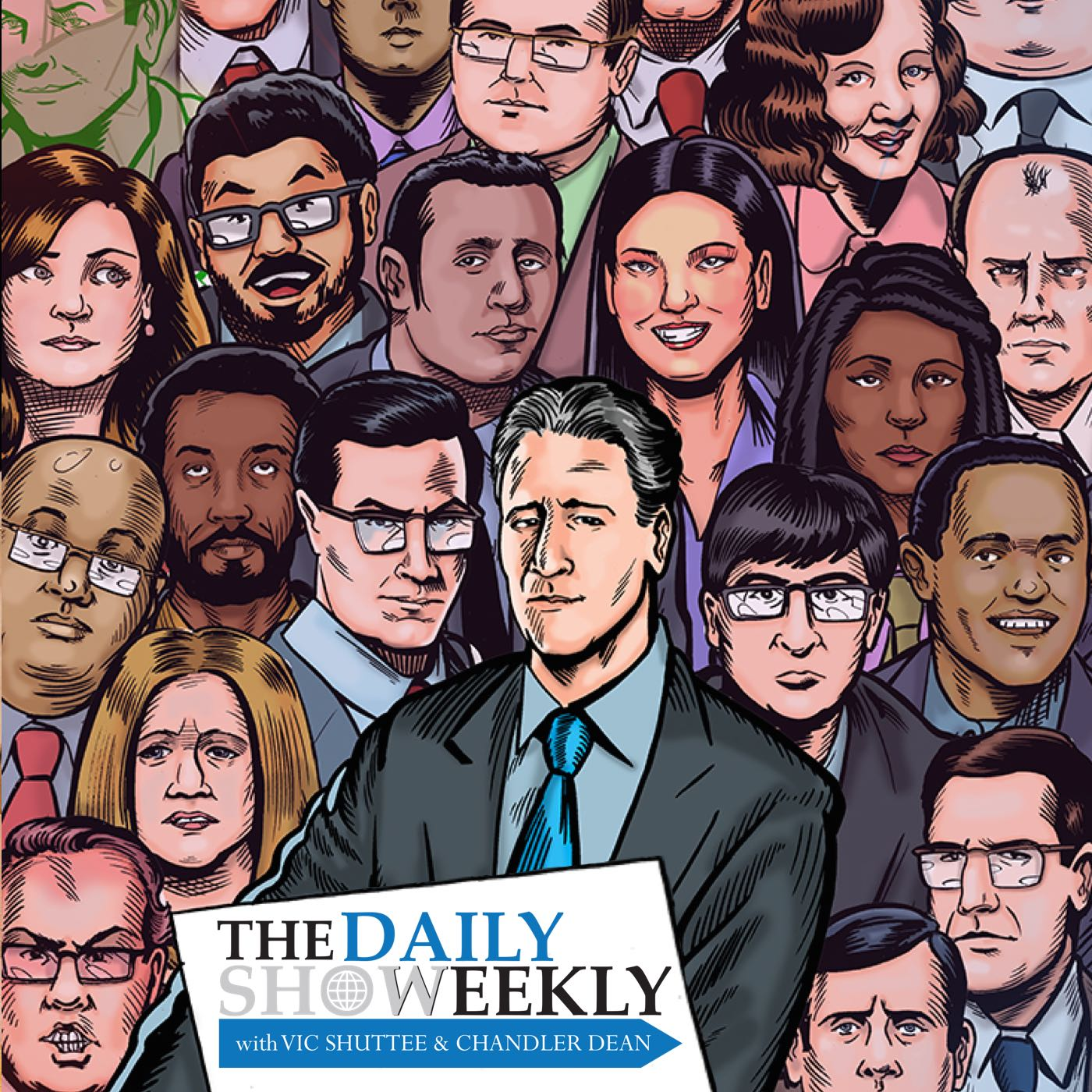 Artwork for The Daily Show Weekly: July 15-18, 2002 (John Ritter, Michelle Williams, Ann Coulter, Natasha Henstridge) | Hosted by Vic Shuttee and Chandler Dean (The Jon Stewart Years)