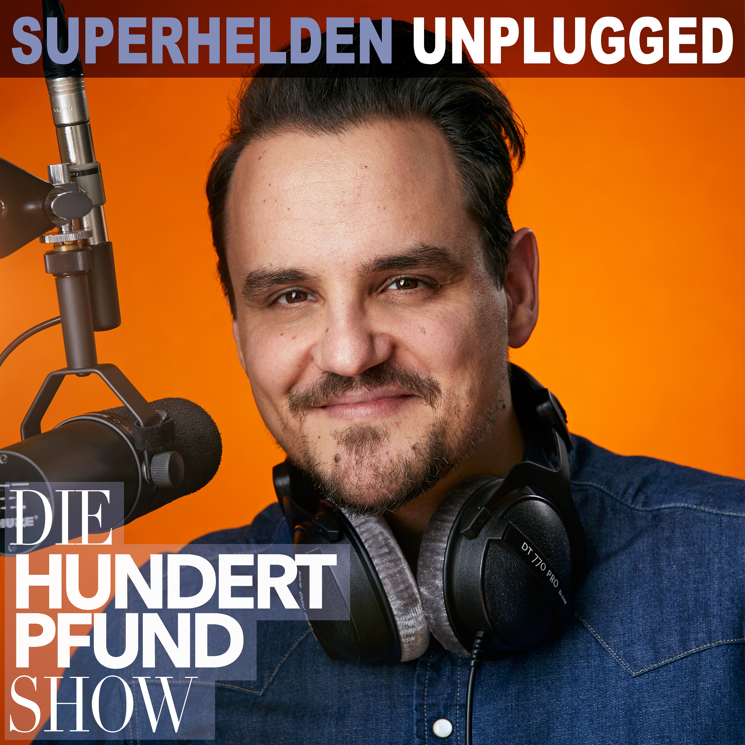Die Hundertpfund Show - Superhelden Unplugged show art