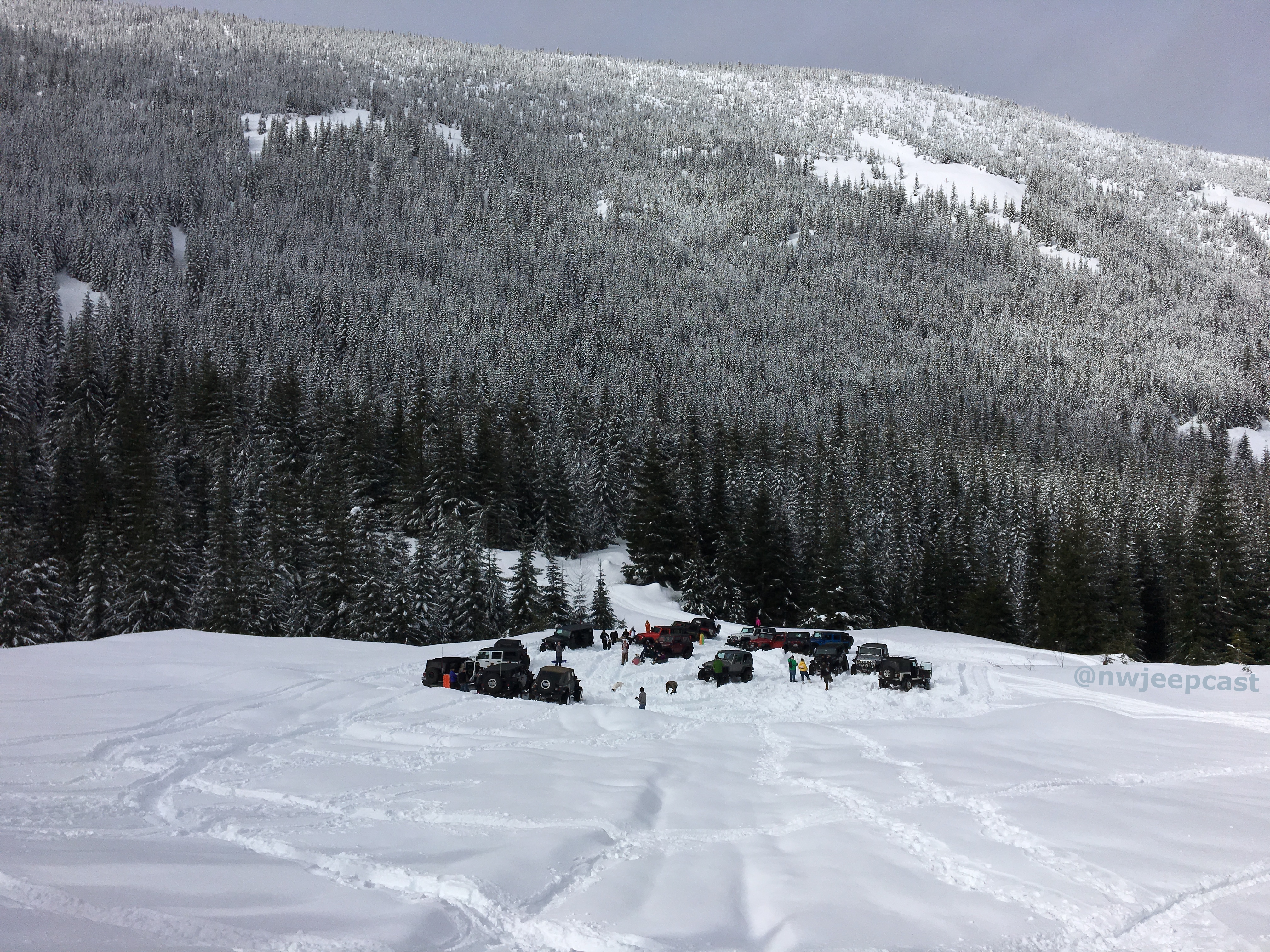 Listener Snow Group - Northwest Jeepcast - A Jeep Podcast