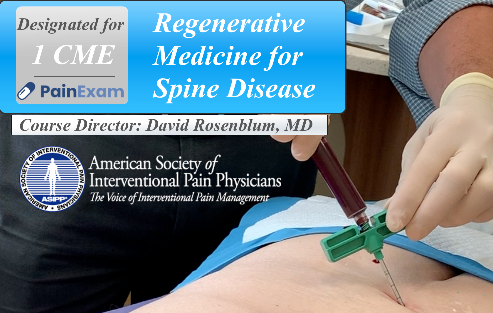 Regenerative Medicine Spine Pain Course