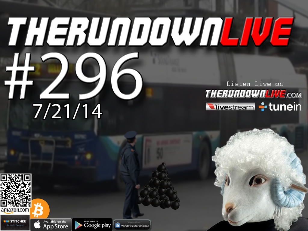 The Rundown Live #296 Open Lines (Malaysian Plane, National Guard on Border, FBI Terror)